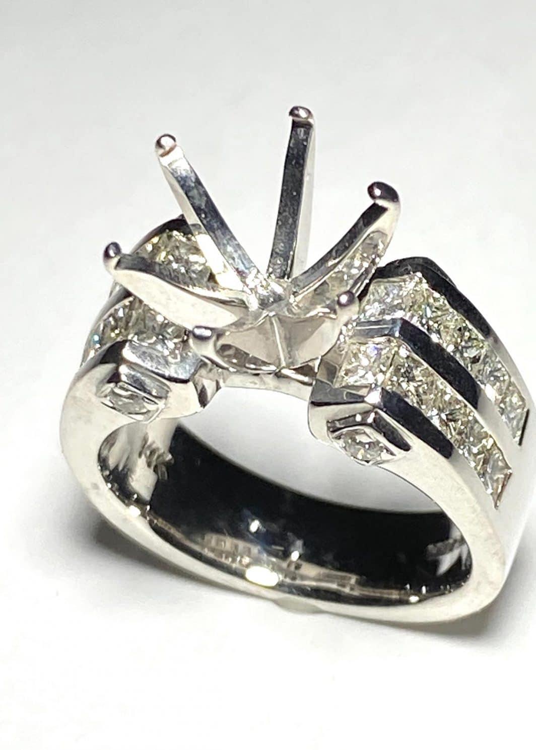 Diamond Semi-Mount Ring