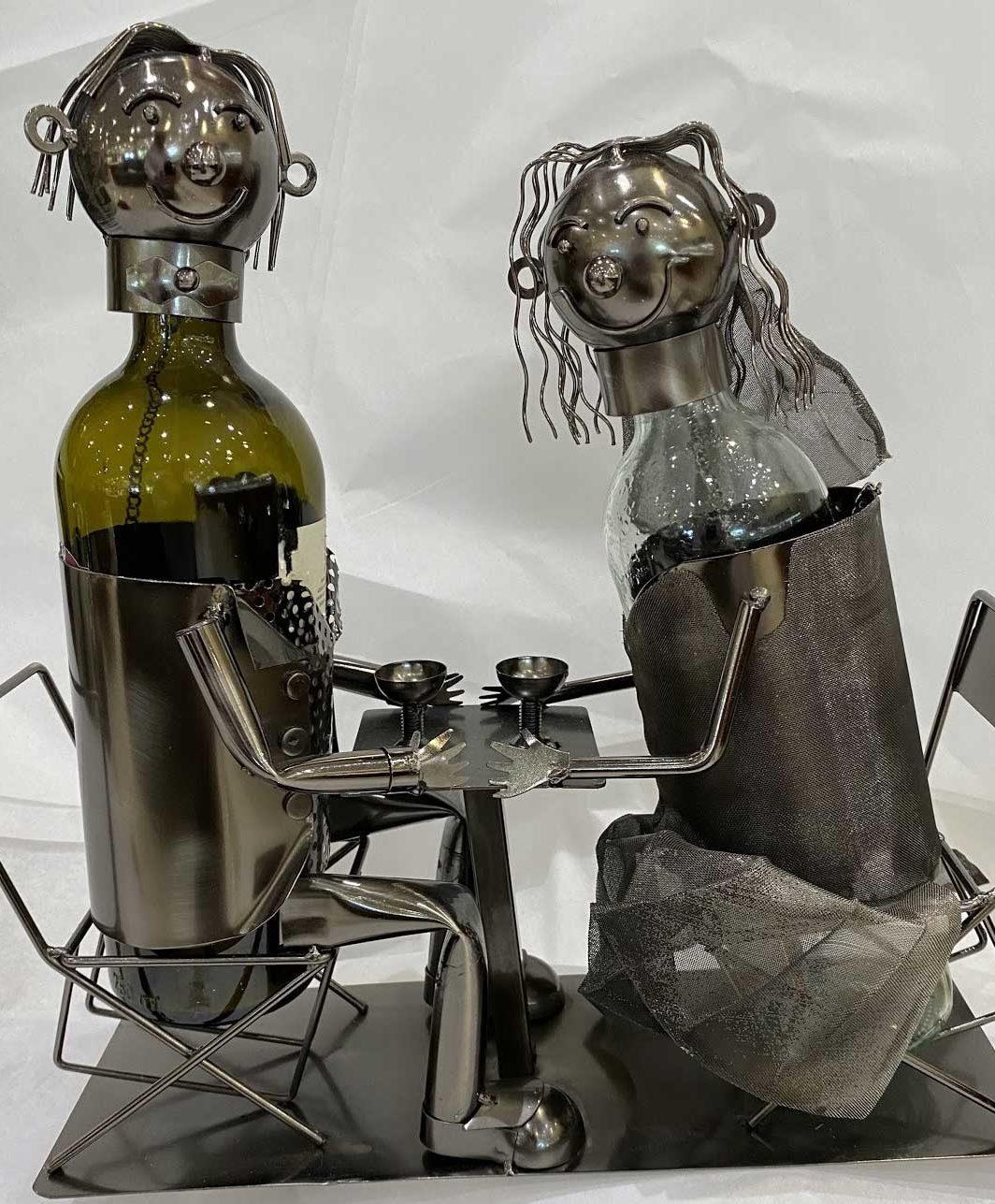 Loving Couple Wine Caddy