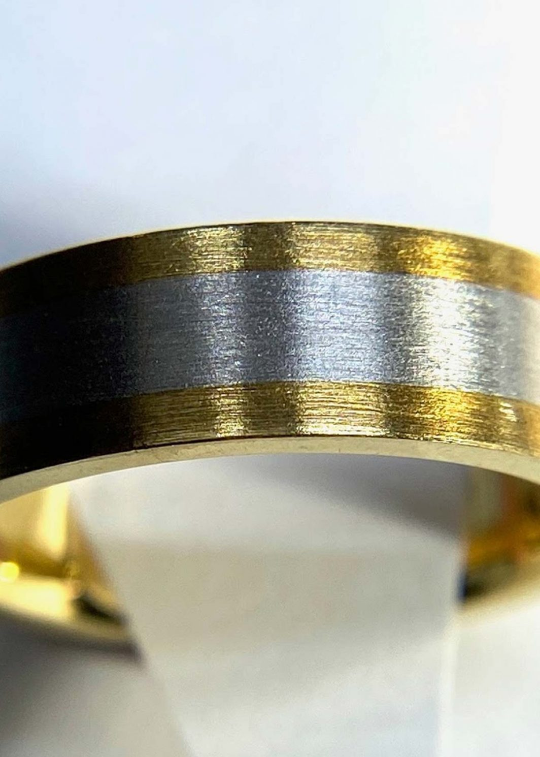 Gents Two Tone Ring
