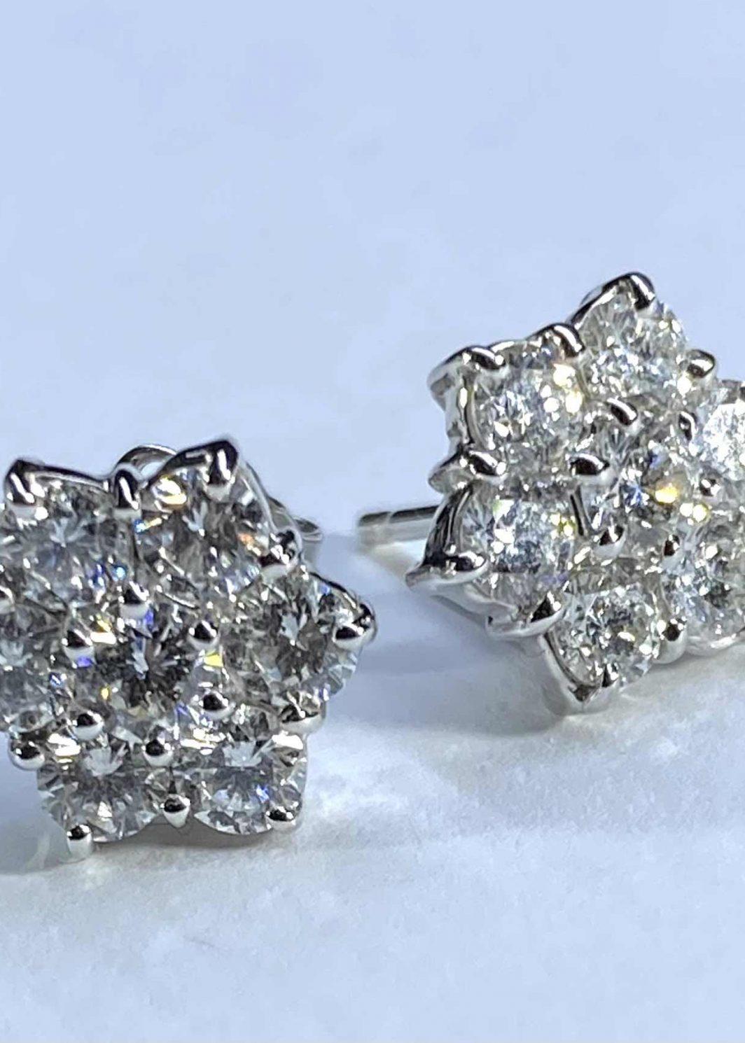 Diamond Studs-Earrings (140-464)