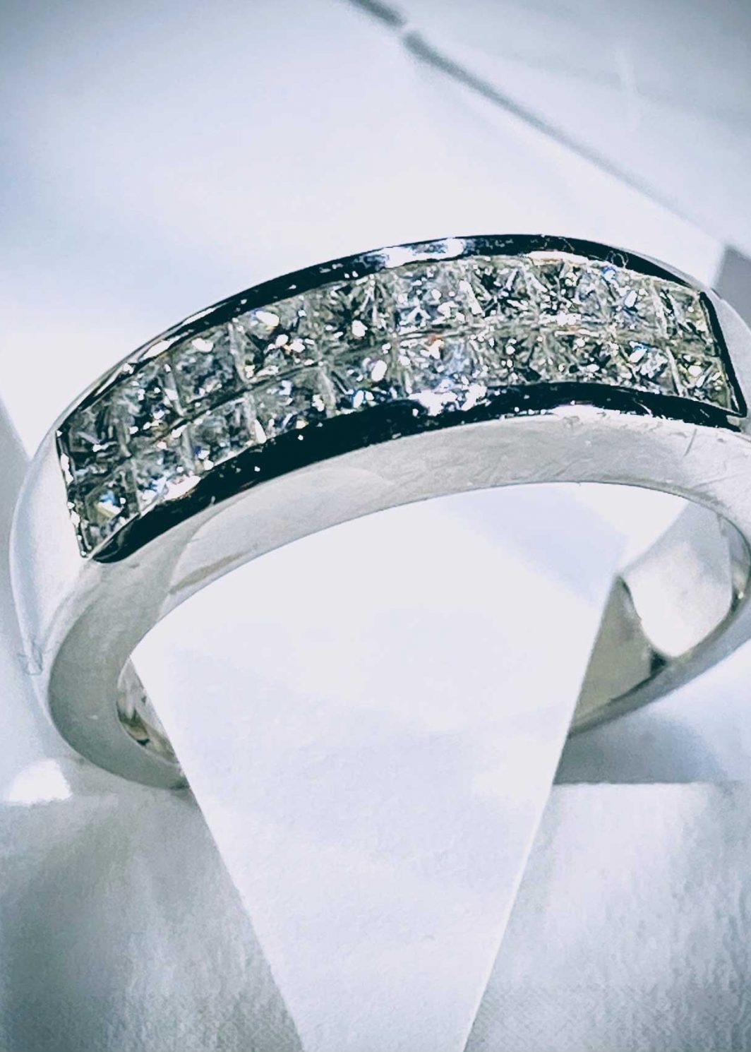 Princess Cut Diamond Band (105-309)